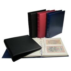 Коллекционный альбом для бон периода гражданской войны 1918 - 1919 гг. с изображением банкнот и холд