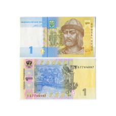 1 гривна Украины 2014 г. (пресс)