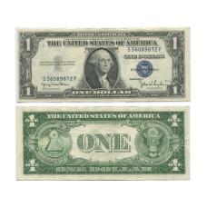 1 доллар США 1935 г. (двор D, S 56089872 F, XF)
