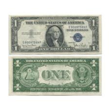 1 доллар США 1935 г. (двор D, D 90097589 F, XF)