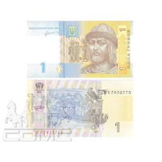 1 гривна Украины 2011 г.