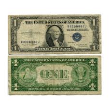 1 доллар США 1935 г. (двор G, B 83186882 J, VG)