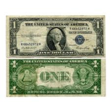1 доллар США 1935 г. (двор Е, R 66452972 Н, VG)