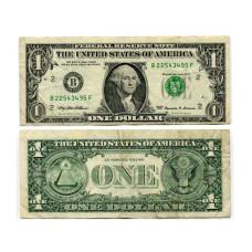 1 доллар США 1999 г. двор B (B 22543495 F)