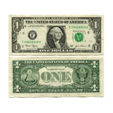 1 доллар США 2003 г. двор B (B 36546619 J)