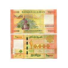 10000 ливров Ливана 2014 г.