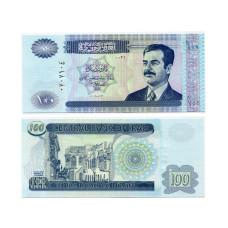 100 динаров Ирака 2002 г.