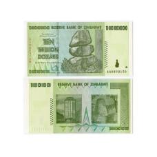 10 000 000 000 000 долларов Зимбабве 2008 г.