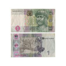 1 гривна Украины 2004 г.