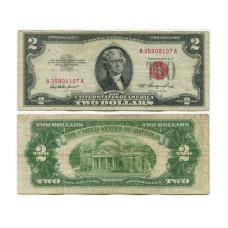 2 доллара США 1953 г. без серии