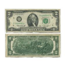 2 доллара США 1976 г. двор E (E19889087A)