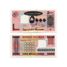 5000 ливров Ливана 2004 г.