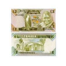 2 квачи Замбии 1980 г.