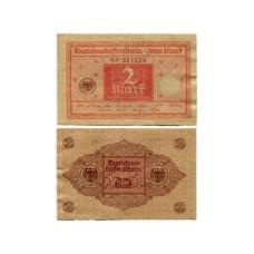 2 марки Германии 1920 г. (VG)