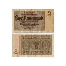 2 рентные марки Германии 1937 г. VG