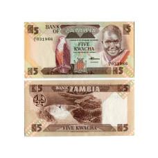 5 квач Замбии 1980 г.