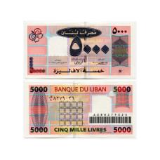 5000 ливров Ливана 2006 г.