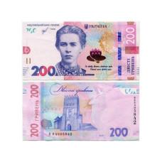 200 гривен Украины 2019 г.