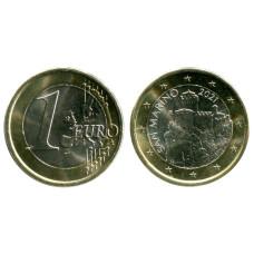 1 евро Сан-Марино 2021 г.