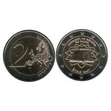2 Евро Ирландии 2007 Г., 50 Лет Подписания Римского Договора