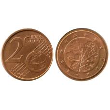 2 евроцента Германии 2006 г. (D)