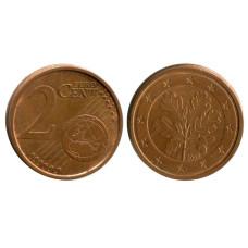 2 евроцента Германии 2006 г. (J)