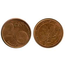 2 евроцента Германии 2004 г. G