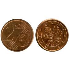 2 евроцента Германии 2016 г. A