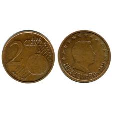 2 евроцента Люксембурга 2011 г.