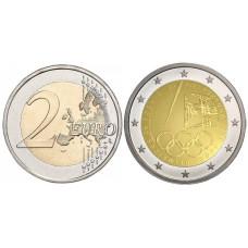 2 евро Португалии 2021 г. Летние Олимпийские игры 2020