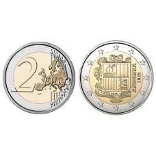 2 евро Андорры 2020 г.