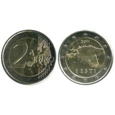 2 Евро Эстонии 2011 г.