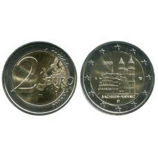 2 евро Германии 2021 г. Саксония-Анхальт, Магдебургский собор (A)