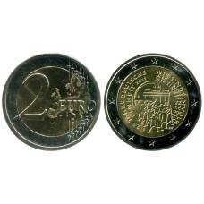 2 евро Германии 2015 г., 25 лет объединения Германии (F)
