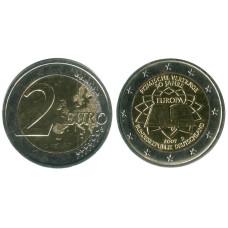 2 евро Германии 2007 г. 50 Лет Подписания Римского Договора D
