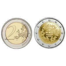 2 евро Греции 2021 г. 200 лет Греческой революции