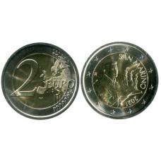 2 евро Сан-Марино 2021 г.