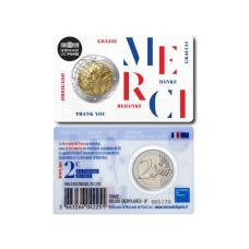 2 евро Франции 2020 г. Медицинские исследования UNION