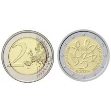 2 Евро Финляндии 2021 г. Журналистика