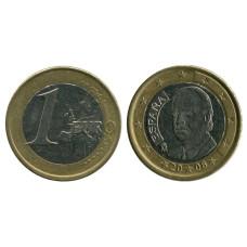 1 евро Испании 2008 г.
