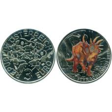 3 Евро Австрии 2021 г. Супер динозавры - Стиракозавр