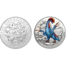 3 Евро Австрии 2021 г. Теризинозавр