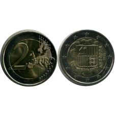 2 Евро Андорры 2014 г.