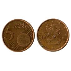 5 евроцентов Финляндии 2014 г.