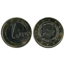 1 Евро Латвии 2016 Г.