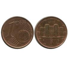 1 Евроцент Италии 2007 Г.