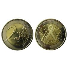 2 евро Франции 2014 г., Всемирный День Борьбы со СПИДом
