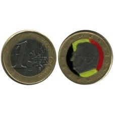 1 Евро Бельгии 2002 Г. (цветная)