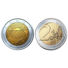 2 Евро Финляндии 2015 Г., 150 Лет Со Дня Рождения Аксели Галлен-Каллела