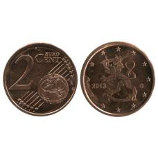 2 Евроцента Финляндии 2013 Г.